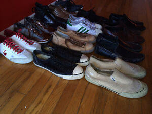 Lot de 13 chaussures 12/45EU - 13 pairs of shoes 12/45EU