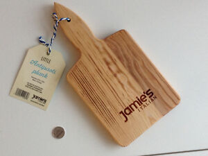 Brand New Jamie Oliver Wood Cheese Cutting Board