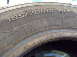 Good Year directional winter tires
