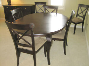 Shermag Dining Room Set - Solid Wood