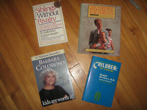 4 Child Rearing Books, Like NEW
