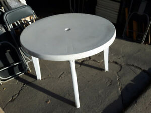 Table pour patio