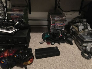 3 different gaming consoles