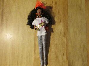 BARBIE Rockers DEE DEE Band Jem Doll Toy Mattel 1986 G1 Vintage