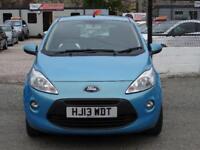 2013 Ford KA 1.2 Zetec 3dr (start/stop)