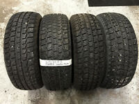 215/60R16 COOPER Winter Tires (Set of four) 90% tread left
