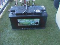Heavy duty leisure battery for caravan and boats
