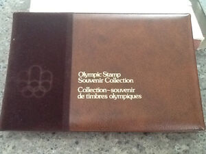 1976 Olympic Stamp Collection Vol 1 West Island Greater Montréal image 1