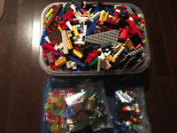 Lego Lot of 1900+ Pieces and Minifigures ~6 Pound!