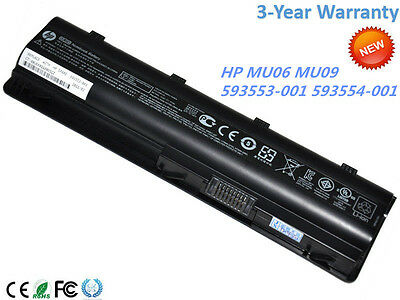New Genuine HP MU06 Original Laptop battery 6-cell 593553-001 593554-001 OEM OEM