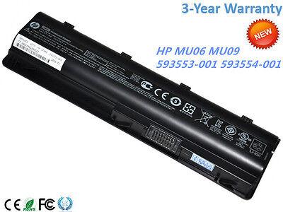 New Genuine HP MU06 Original Laptop battery 6-cell 593553-001 593554-001 OEM OEM
