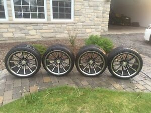 Rims and Tires : Good Condition