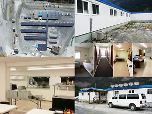 COMPLETE 165 Man Camp Available -Dorms Office Kitchen- REDUCED