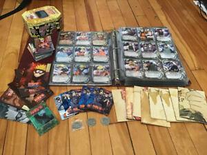 Collection 800 Cartes Naruto
