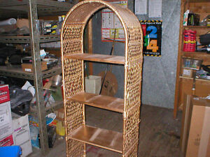 WICKER BOOKCASE/SHELVING UNIT London Ontario image 1