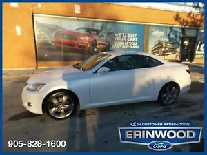 2010 Lexus IS 250CRARE !!  6 speed / Tech Pkg / Hard Top Convert