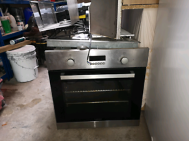 Lamona built in oven and hob with extractor fan