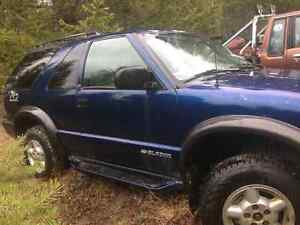 2000 chevy blazer zr2 fully loaded