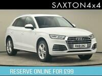 2018 Audi Q5 2.0 TFSI S line S Tronic quattro (s/s) 5dr SUV Petrol Automatic