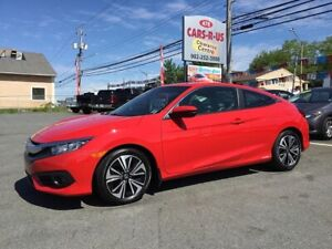 2016 Honda Civic EX-T  Coupe   FREE 1 YEAR PREMIUM WARRANTY INCL