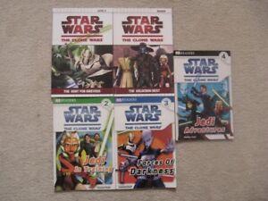 Star Wars Clone Wars Books (5 Books)