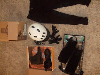 Youth Horse Back Riding Gear-very gently used!