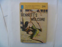 BENNETT'S WELCOME by Inglis Fletcher - 1952 Paperback