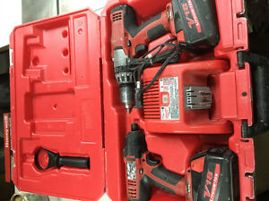 Kit 5 outil Milwaukee v18 3 ampere