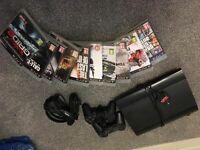 PS3 500gb Super Slim Console and 10 games!