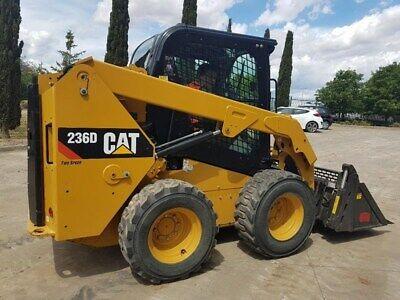 Caterpillar 236d Skid Steer Loader Ac Heat Cab