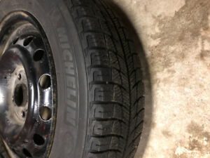 14 inch Michelin winter tires and rims