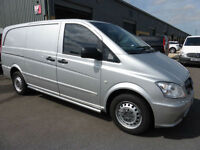 2012 Mercedes-Benz Vito 113 CDi LWB, AIR CON, Full Merc SH, 6m WARRANTY, SUPERB