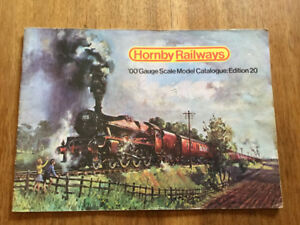"1974 Hornby ""OO"" model train catalogue."
