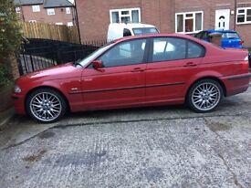 2001 BMW E46 325i M SPORT 192 BHP sale swap px