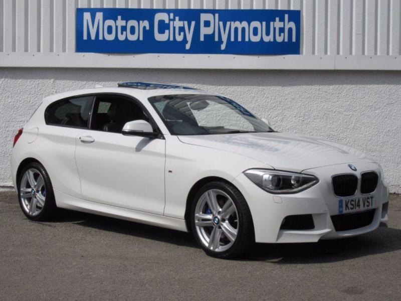 2014 14 BMW 1 SERIES 2.0 120D M SPORT 3D 181 BHP DIESEL