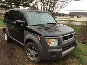 2003 Honda Element grey SUV, Crossover