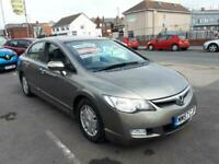 2008 Honda Civic 1.4 i-Dsi ES IMA Automatic Saloon From £4,195 + Retail Package