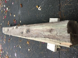 """6""""x6"""" Timber - 5'4"""" Long - Fireplace Mantle"""