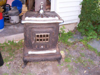 Cast Iron Stove - Great Outdoor Decor or Outdoor Fireplace