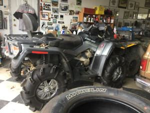 Looking for stock exhaust for 09 CanAm Outlander Max
