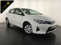 2013 63 TOYOTA AURIS ACTIVE D4-D 1 OWNER SERVICE HISTORY FINANCE PX WELCOME