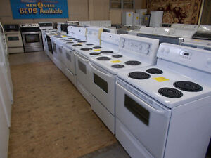Stoves, Large selection. 90 day warranty.