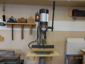 Craftex bench top mortise machine