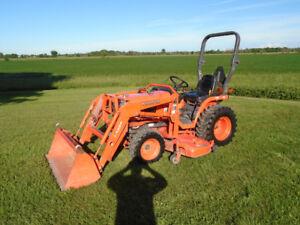 Kubota B7610 Tractor/Loader/Mower  Clean!!!  Financing Avail!