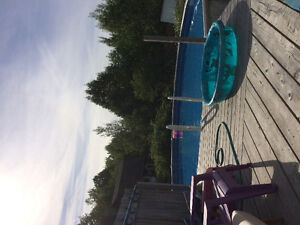 27 ft round above ground pool for sale