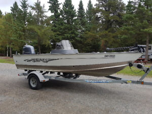 2016 Lund impact with 115hp yamaha