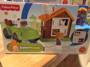 Camion de la ferme et poulailler - Little People