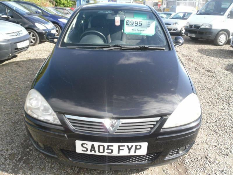 2005 VAUXHALL CORSA 1.4i 16V SRi 3dr IDEAL 1ST CAR FULL YEARS MOT, WORTH A LOOK