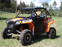 2012 UNUSED POLARIS RZR 900 XP LE 88HP LOADED CUSTOM CAGE ETC