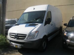 2010 Mercedes-Benz Sprinter Van High Roof Minivan, Van